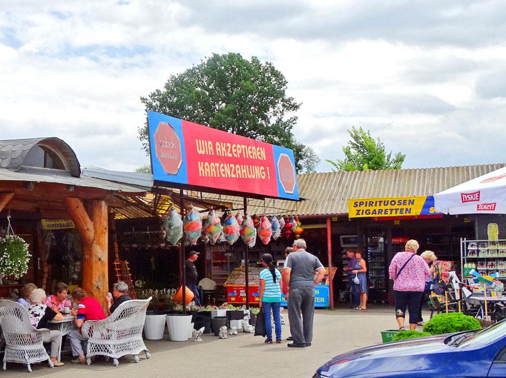 Basar Kostrzyn Polenmarkt Unterwegs In Polen