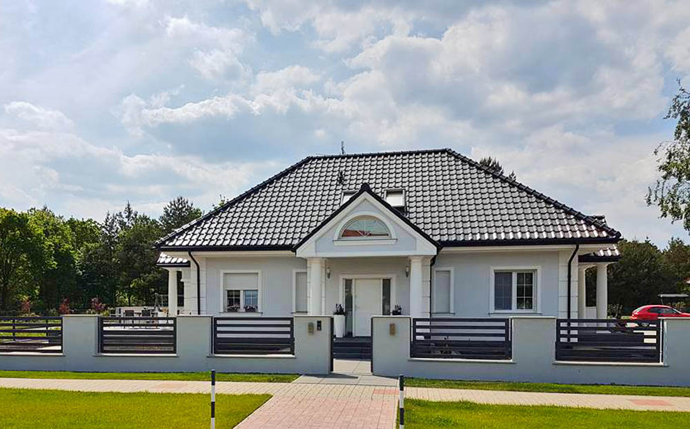 Traumhaus mit Homax-Fenstern