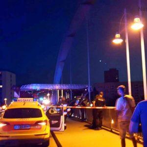 Selbstmörder sprang von der Stadtbrücke