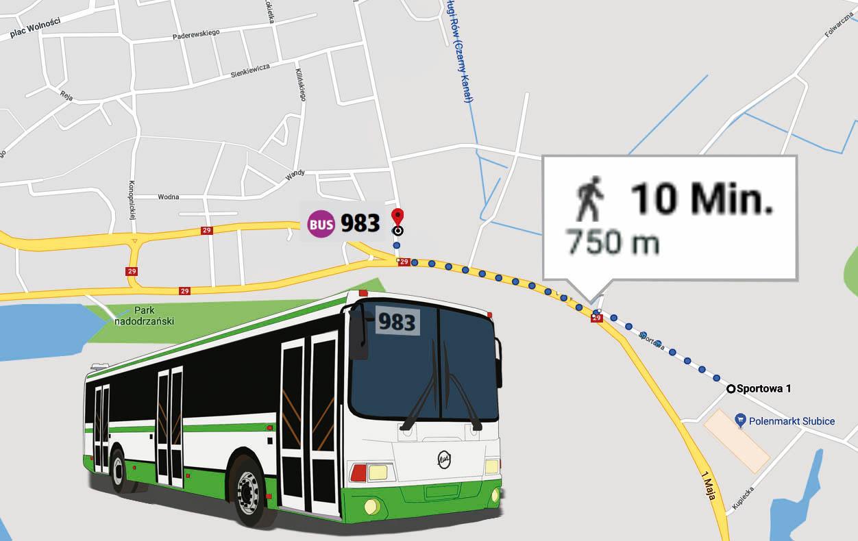 Mit Bahn, Bus oder Auto zum Polenmarkt