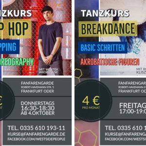 4. Oktober – Hip Hop und Breakdance Kurse