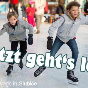 Eisbahn eröffnet an diesem Wochenende