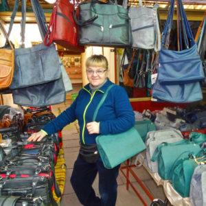 Die Tasche macht die Dame…
