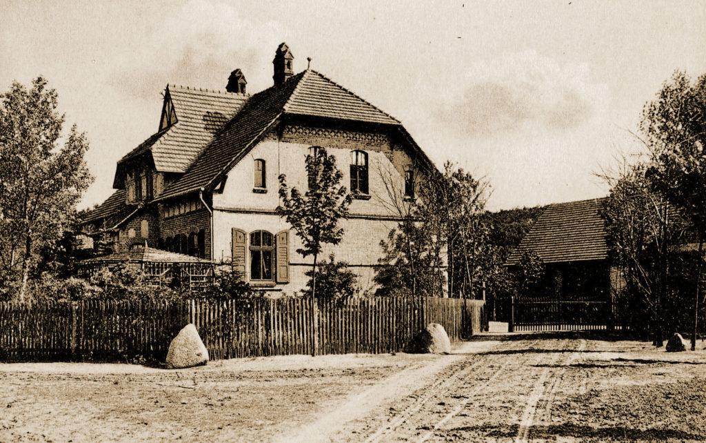 Das alte Forsthaus bei Drzecin
