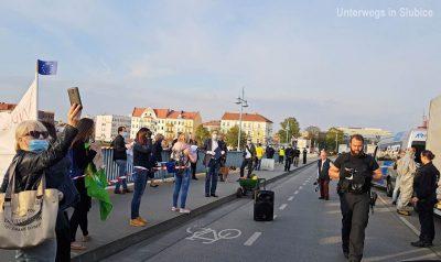 Demo für offene Grenzen