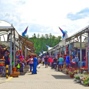 Polenmärkte schließen wegen Corona-Überprüfung