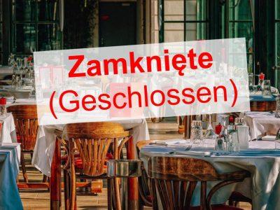 Restaurants müssen schließen