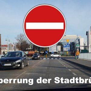 Samstag wird der innerstädtische Grenzübergang für den Autoverkehr gesperrt