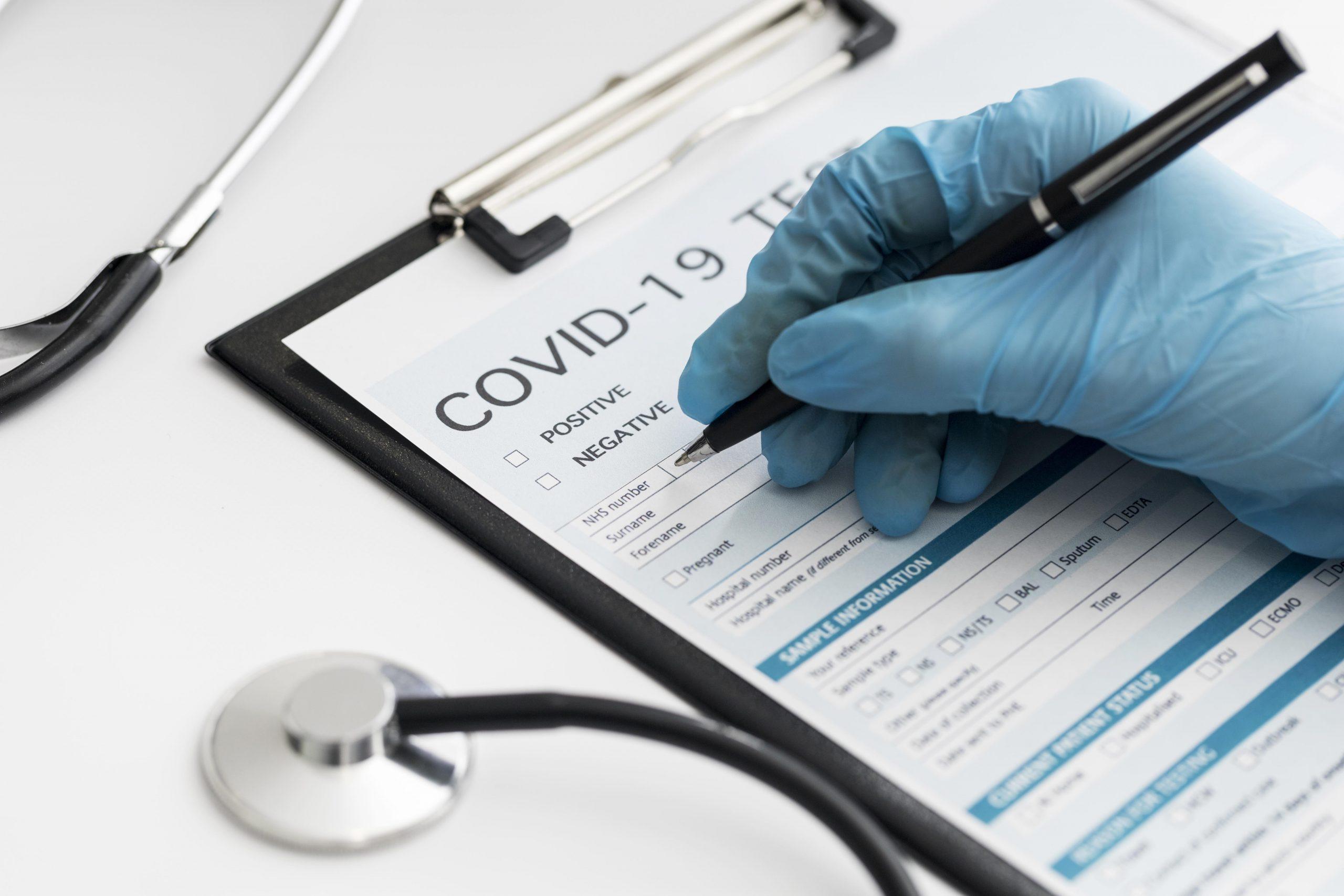 Covid-Test bei Stomatologia