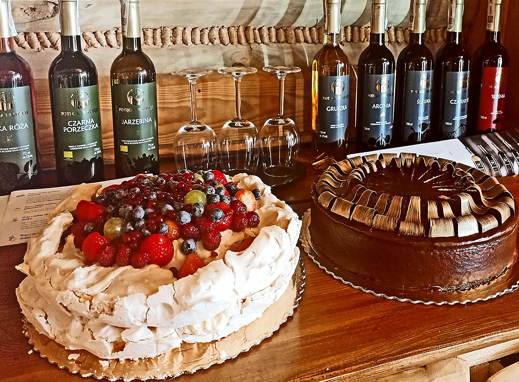 Kuchen und Wein…